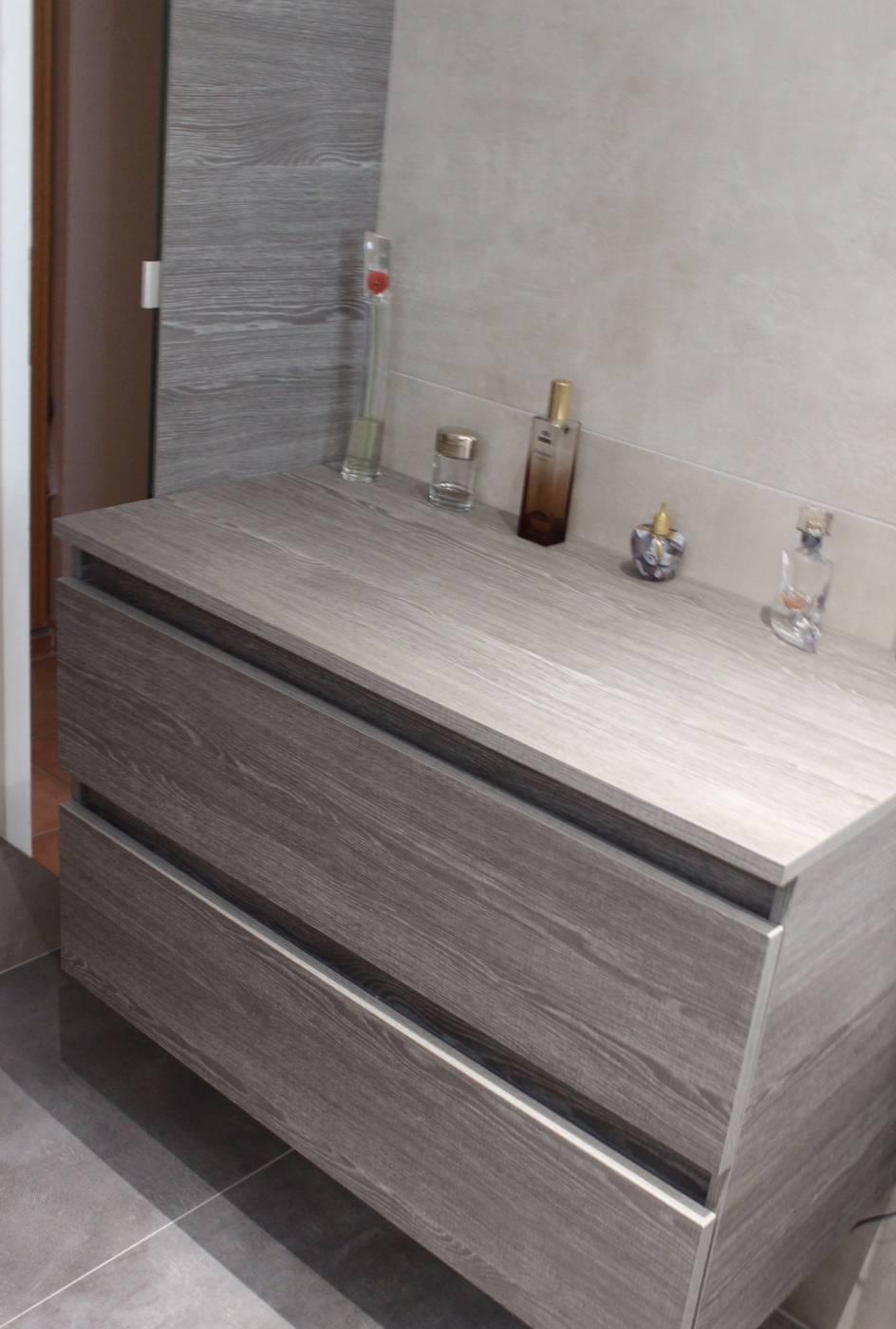 salle de bain bois et gris. fabulous modele salle de bain bois ... - Salle De Bain Bois Et Gris