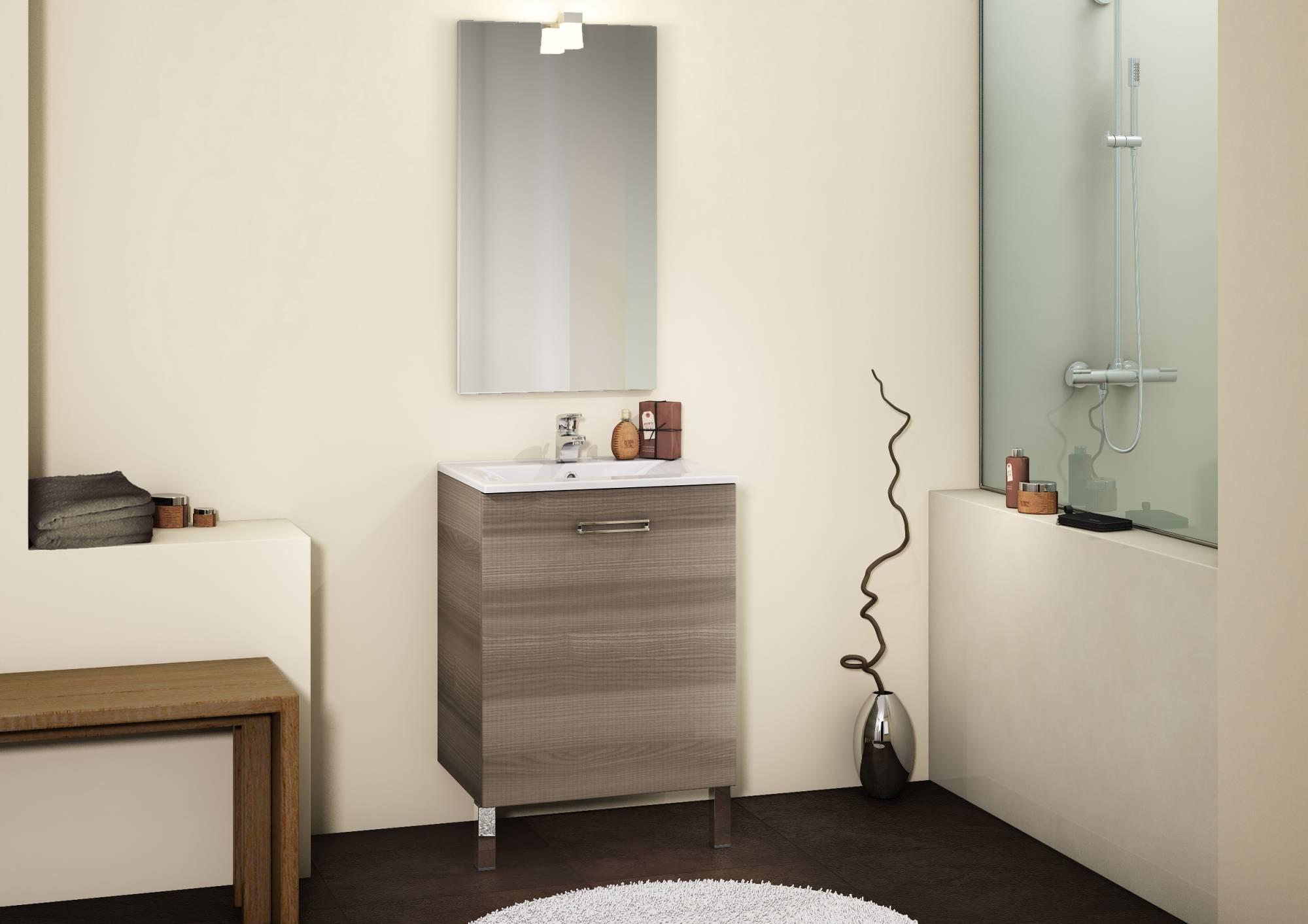 Meuble Pour Salle De Bains CHANGO Eguilles Carrelage - Meuble salle de bain sur pieds