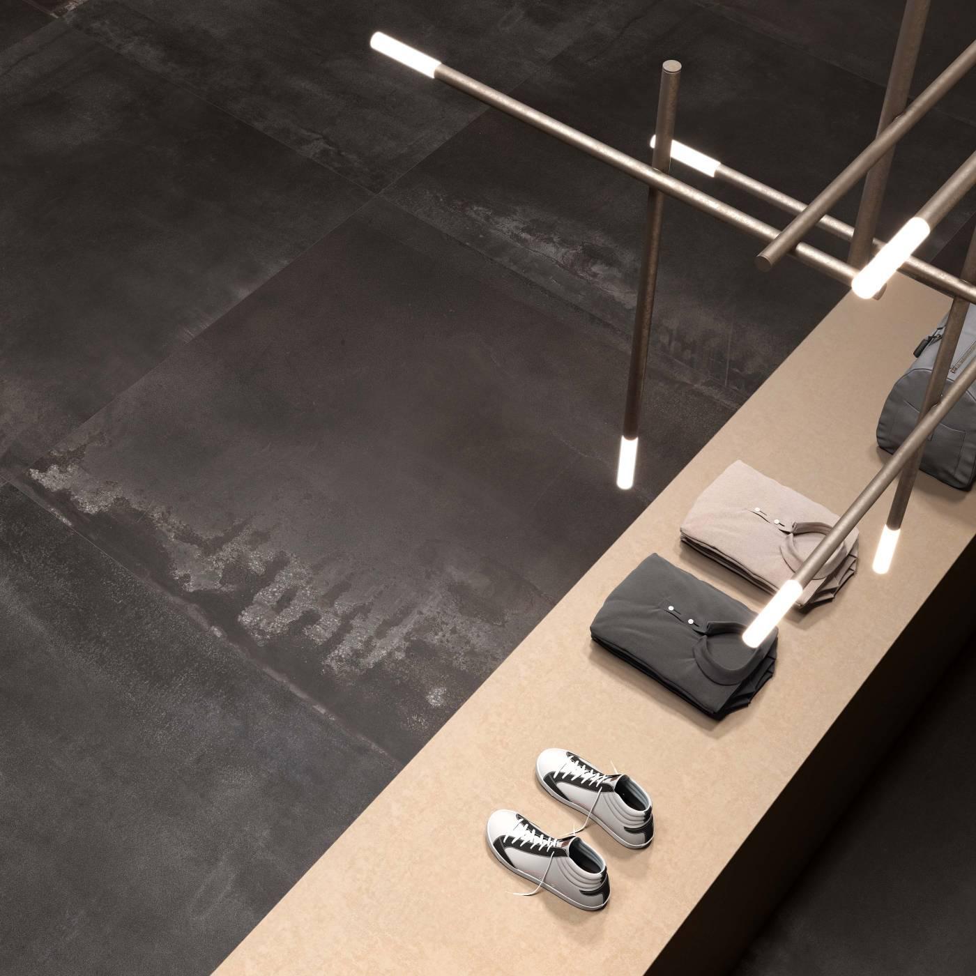 Grand format de carreau pour sol ou murs eguilles for Grand carreau carrelage