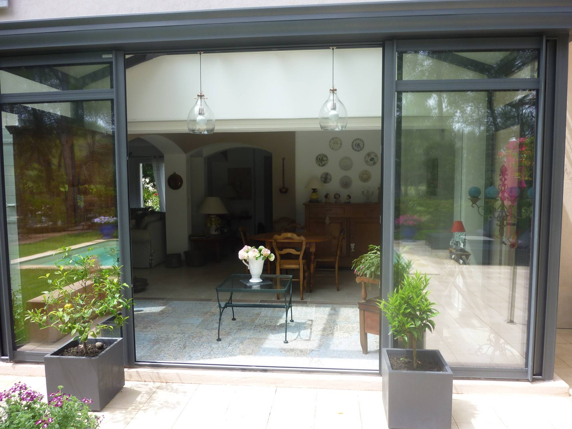 Carrelage Deco Dans Une Veranda Aix En Provence Carrelage Interieur Et Exterieur A Eguilles Salle Bain Cuisine Et Terrasse