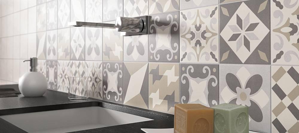 Carrelage imitation carreau de ciments carrelage int rieur et ext rieur eguilles salle - Carrelage ciment provencal ...