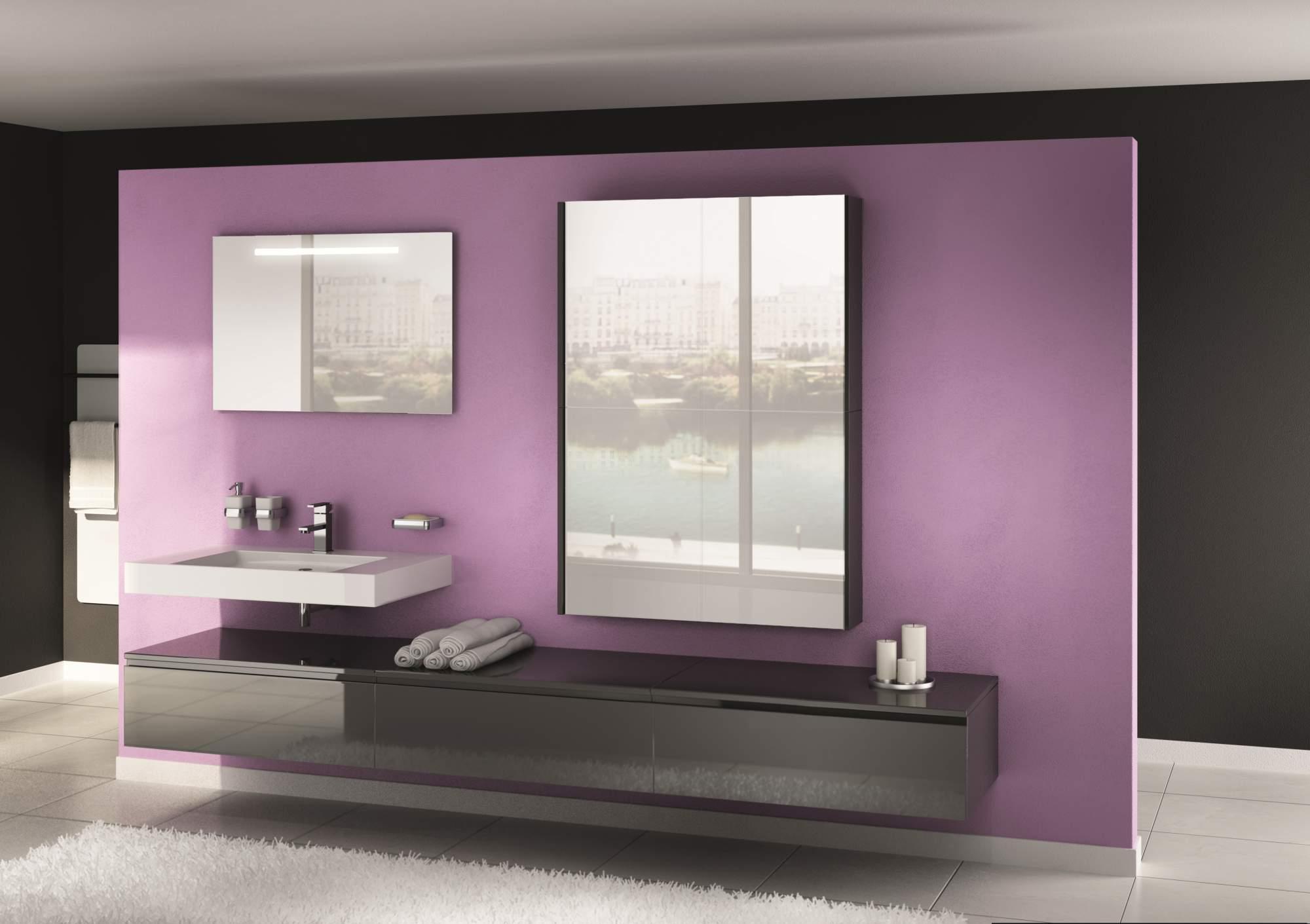 vente de meuble suspendu gris antracite bouches du rh ne. Black Bedroom Furniture Sets. Home Design Ideas