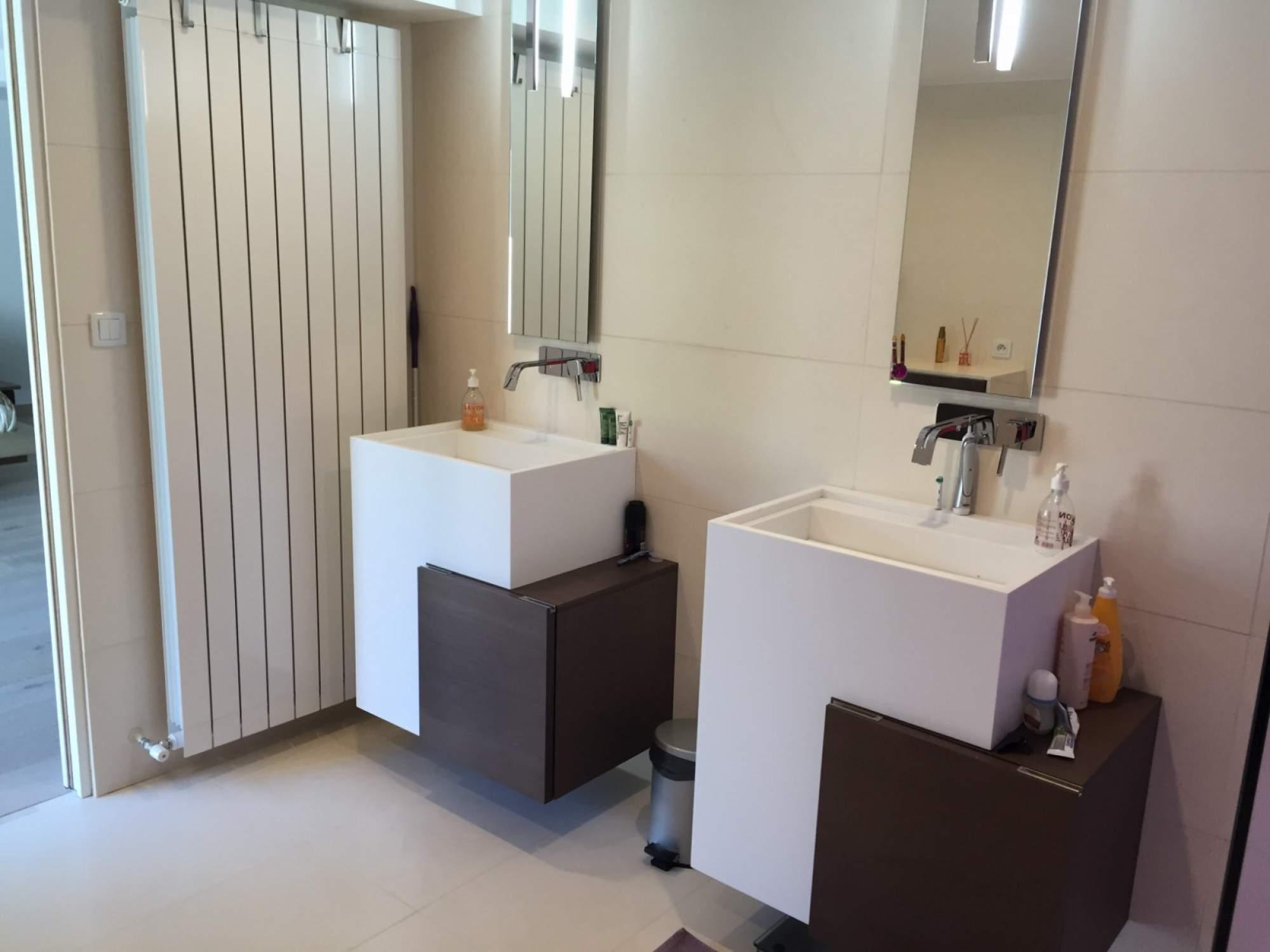 Cr ation d une salle de bains avec douche l italienne - Cout d une salle de bain a l italienne ...