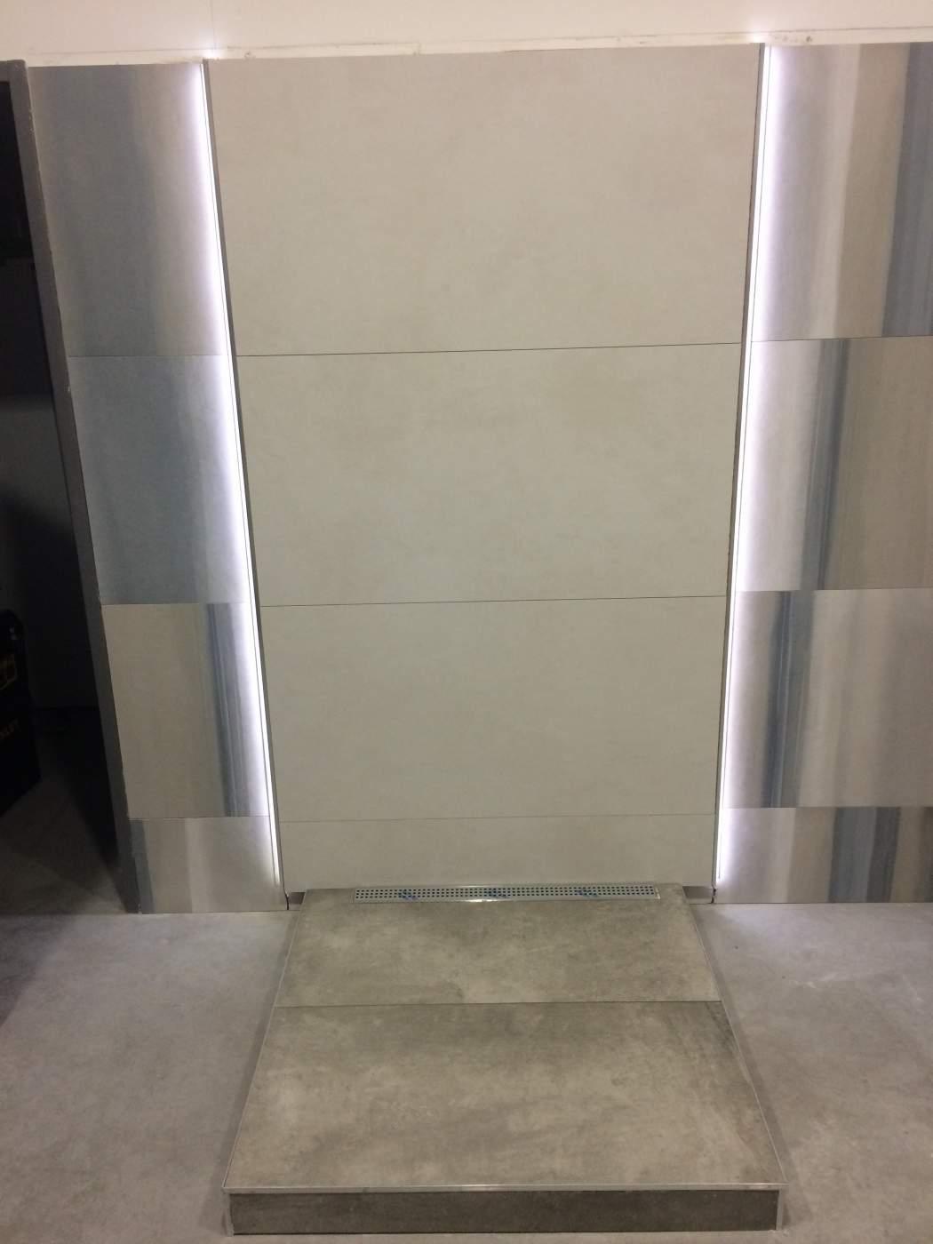 led pour douche free douche pluie filet for led effet With carrelage adhesif salle de bain avec ampoule led rgb