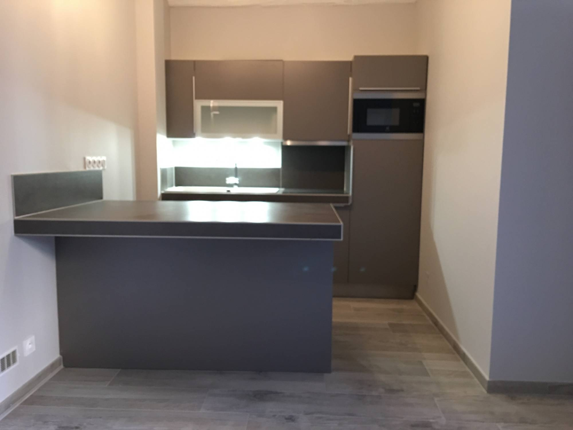 Cr ation d 39 une cuisine sur mesure en plein centre d 39 aix en for Aix en provence cuisine