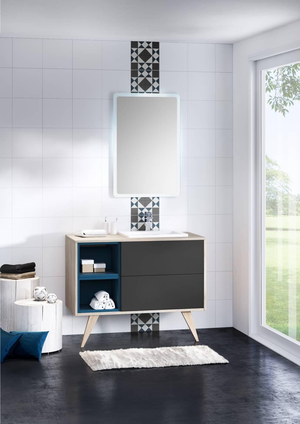 meuble suspendu pour salle de bains mosa que carrelage int rieur et ext rieur eguilles. Black Bedroom Furniture Sets. Home Design Ideas