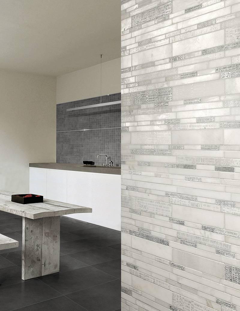 mosa que barettes pour murs cuisine ou salle de bains eguilles carrelage int rieur et. Black Bedroom Furniture Sets. Home Design Ideas