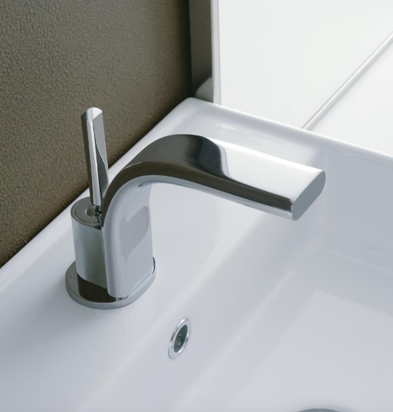 Robinet de salle de bains elot mitigeur lavabo bec bas for Robinet salle de bain ikea