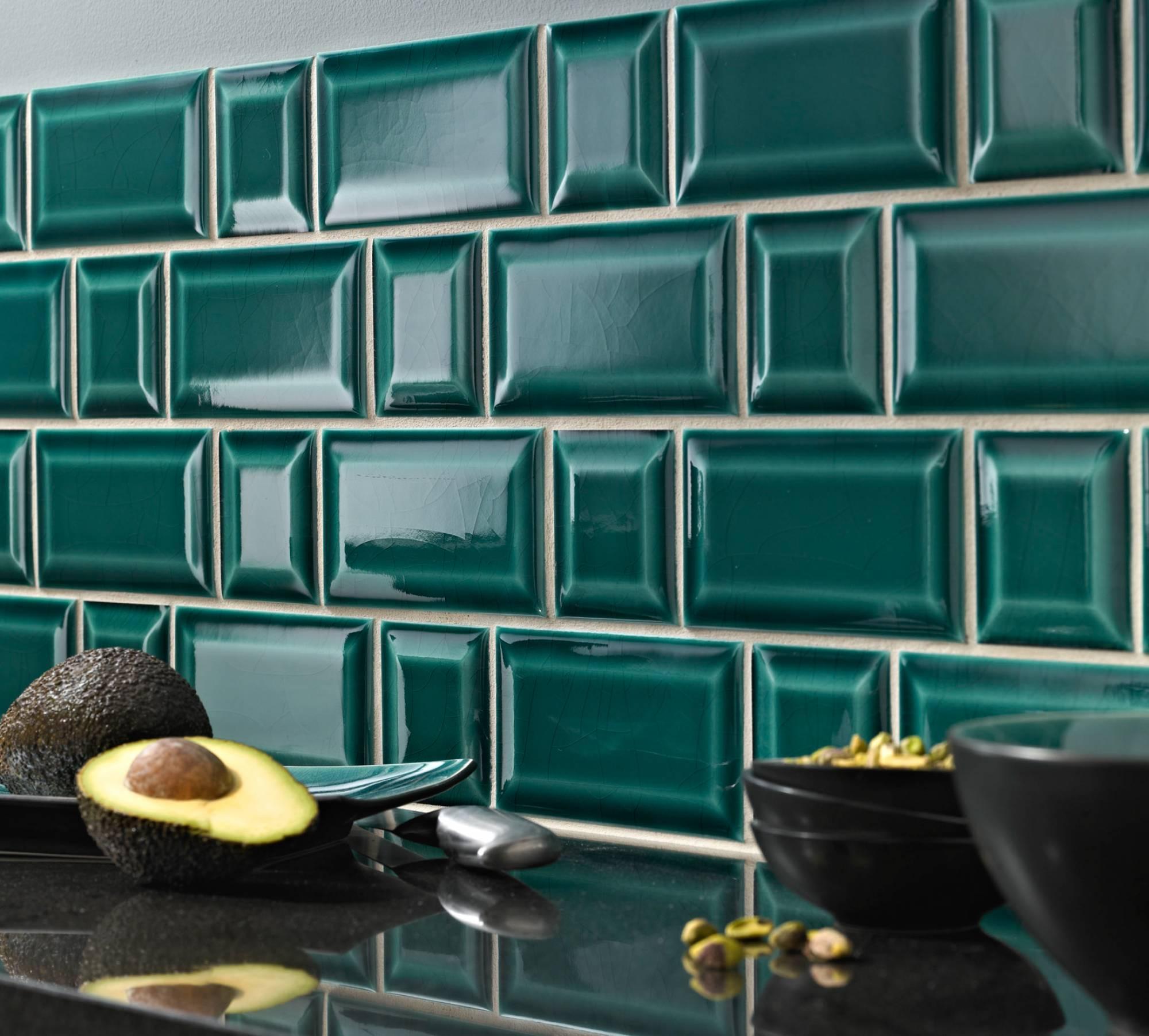 Carreau m tro eguilles carrelage int rieur et ext rieur eguilles salle bain cuisine et - Carrelage metro bleu ...
