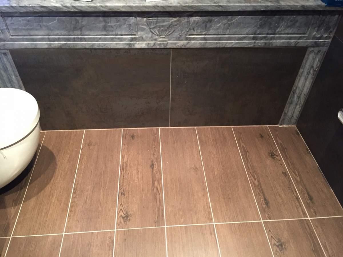 salle de bains parentale en plein coeur d aix en provence carrelage int rieur et ext rieur. Black Bedroom Furniture Sets. Home Design Ideas