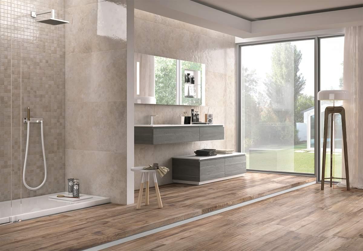Vente de carreau opus gr s c rame grand format eguilles for Vente carrelage salle de bain